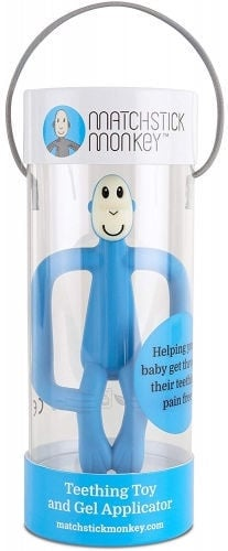 Matchstick Monkey Teething Toy 3m+ Blue