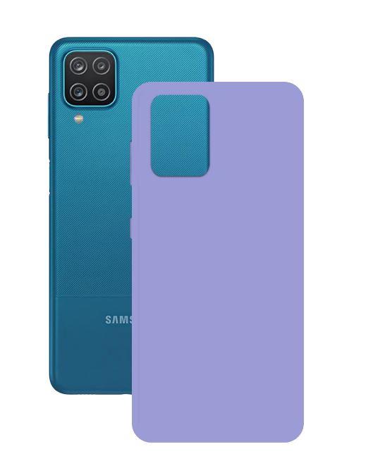 Silikoonist ümbris Ksix Samsung Galaxy A12 violet
