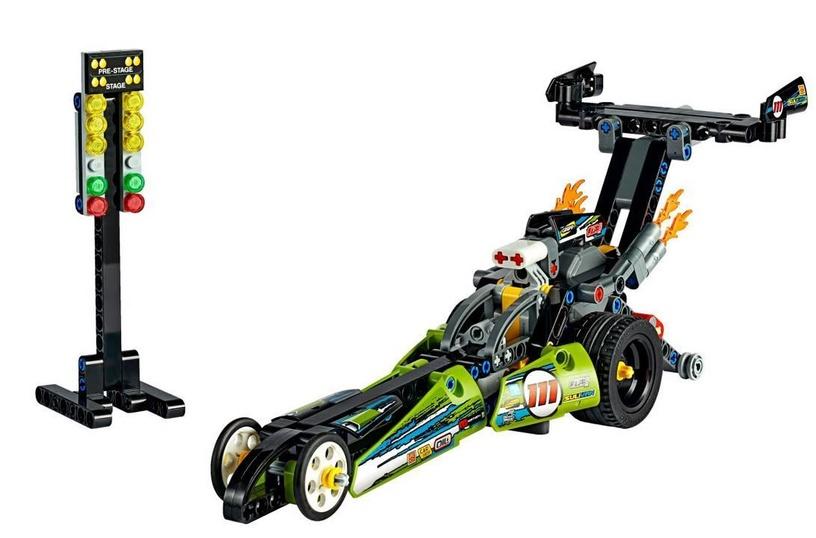 Konstruktorius LEGO®Technic 42103 Traukos lenktynių automobilis
