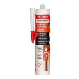 Dažomas silikoninis hermetikas Penosil Painters, 290 ml baltas