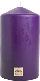 Eika Pillar Candle 14x8cm Purple