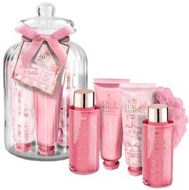 Grace Cole Feminine Florals Shower Gel 100ml + Bath Foam 100ml + Body Cream 50ml + Hand Cream 50ml + Sponge