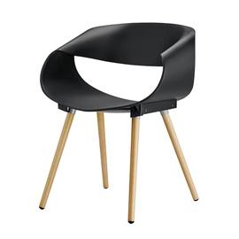 Valgomojo kėdė PP-682, juoda