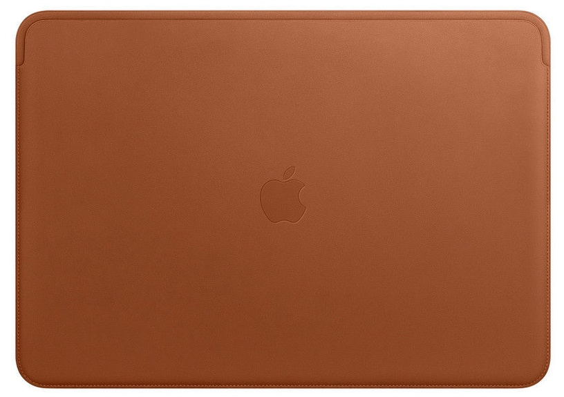 "Apple Leather Sleeve For 15"" MacBook Pro Saddle Brown"