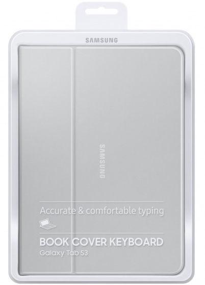 Samsung Keyboard Book Cover For Samsung Galaxy Tab S3 Dark Grey