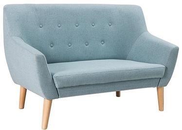 Dīvāns Signal Meble Nordic 2 Cablo 10 Blue, 136 x 75 x 90 cm