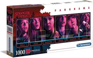 Clementoni Panorama Puzzle Netflix Stranger Things 1000pcs 39548