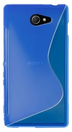 Telone Back Case S-Case for Sony D230 Xperia M2 Blue