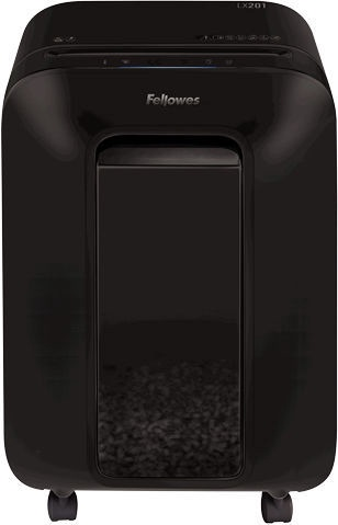 Уничтожитель бумаг Fellowes Powershred LX201 Black, 2 x 12 mm
