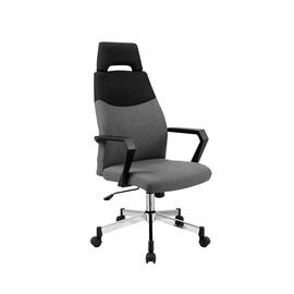 Halmar Olaf Office Chair Grey/Black