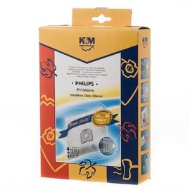 Dulkių siurblio maišeliai K&M P11 Mikro, 4 vnt.