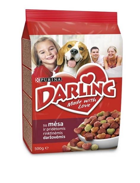 Сухой корм для собак Darling for Dogs with Meat and Vegetables 500g