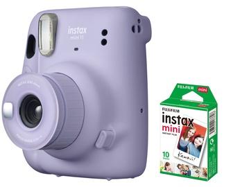 Momentfotoaparāts Fujifilm INSTAX MINI 11 LILAC PURPLE + 10 PL