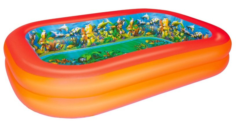 Baseins Bestway Splash & Play 3D Adventure Rectangular Pool