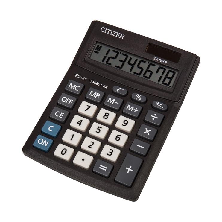 Kalkulaator Citizen CMB801-BK