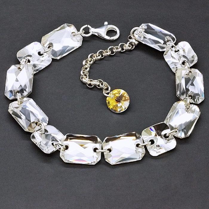 Diamond Sky 925 Sterling Silver Bracelet Grace V