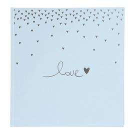 Альбом для фотографий Goldbuch Raining Hearts, голубой