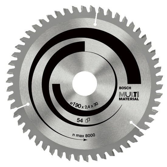 Disks ripzāģa 190x30mm multi material