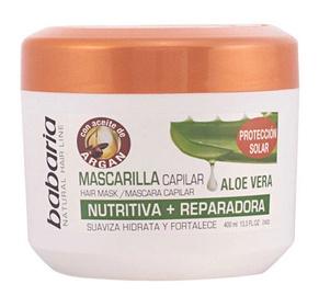 Babaria Aloe Vera & Argan Oil Hair Mask 400ml