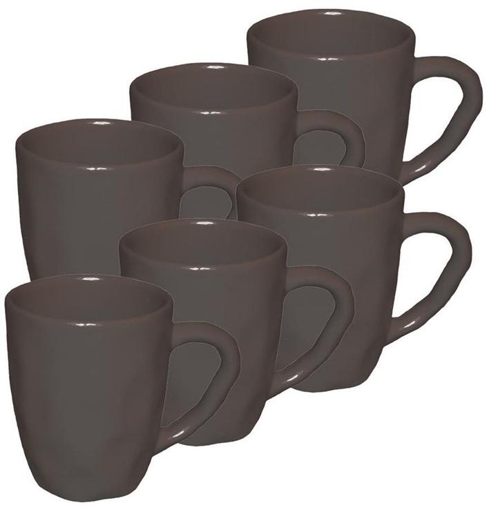 Bradley Organic Ceramic Cup 11cm Brown 24pcs
