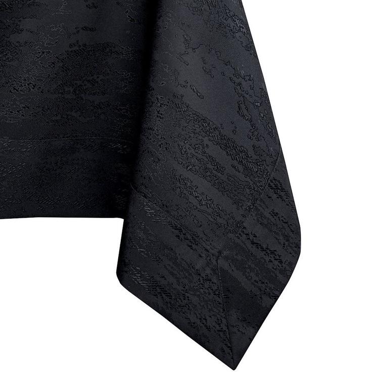 Скатерть AmeliaHome Vesta BRD Black, 130x130 см