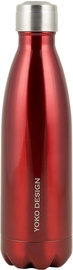 Yoko Design Isothermal Bottle 0.5l Shiny Red