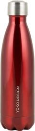 Yoko Design Isothermal Bottle 0.5l Shiny Red