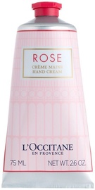 Rankų kremas L´Occitane Rose, 75 ml