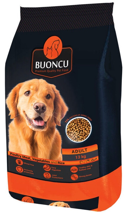 Buoncu Adult Poultry Meat And Vegetables And Rice 2kg