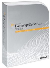 Программное обеспечение для серверов Microsoft Exchange Server 2010 Standard DVD OLP-NL SA 1 User CAL Government