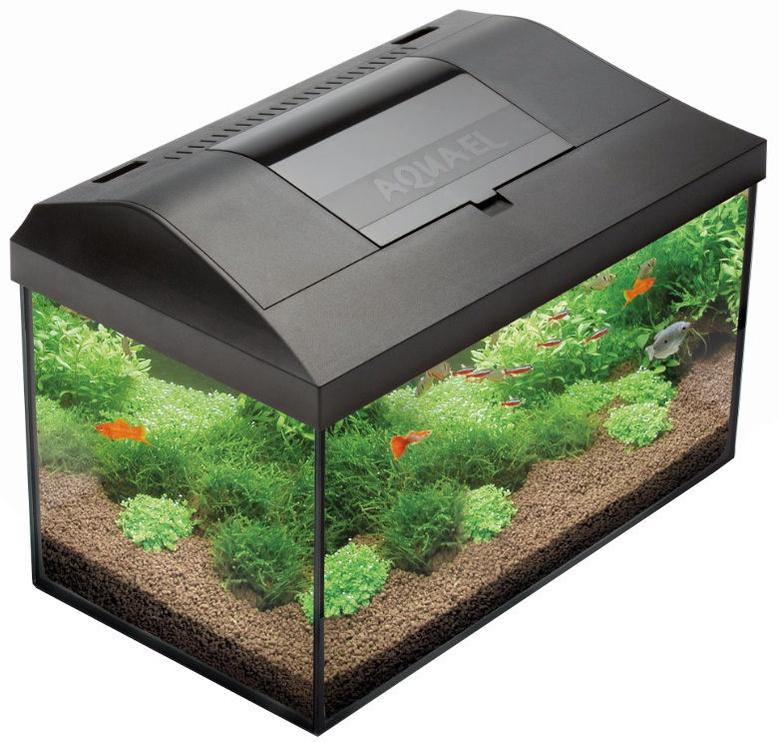 Aquael Aquarium Leddy Set 75 Black