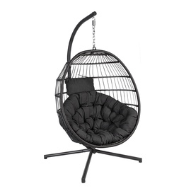 Home4you Wels Swing Chair Grey