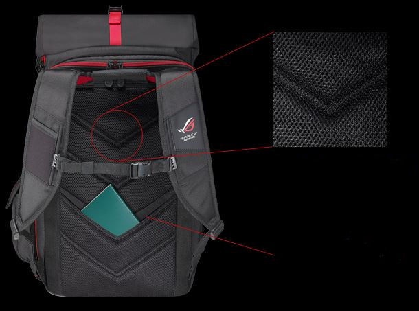 Asus ROG Ranger Laptop 17 Backpack Black