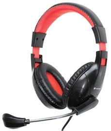 Ausinės Tracer Dizzy Headset Red