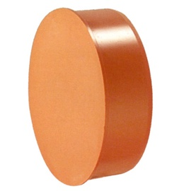 Noslēgtapa PVC āra.kan 110, brūna (Wavin)