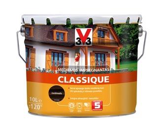 Medienos impregnantas V33 Classique, juodmedžio spalvos, 10 l