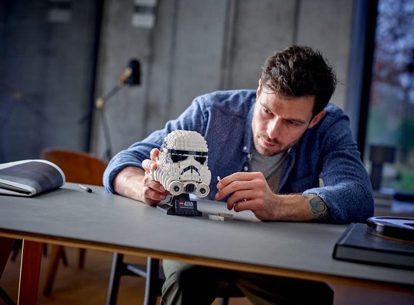 Конструктор LEGO®Star Wars TM 75276 Шлем штурмовика
