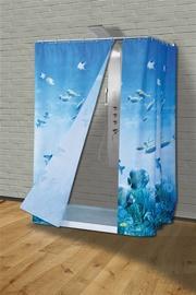 Vonios užuolaida Saniplast, 180 x 200 cm