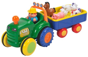 Kiddieland Farm Tractor With Trailer 24752