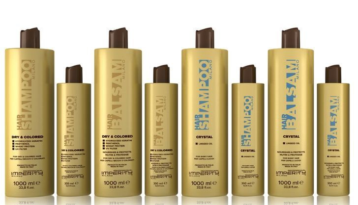 Šampūns Imperity Professional Milano Dry & Colored, 300 ml