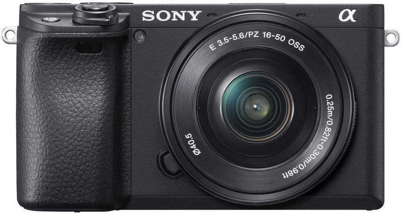 Sony Alpha A6400 E-Mount Camera + PZ 16-50mm f/3.5-5.6 OSS Black