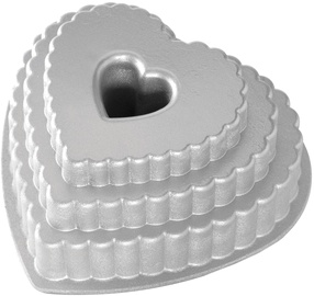 Nordic Ware Tiered Heart 25x26.5x12cm