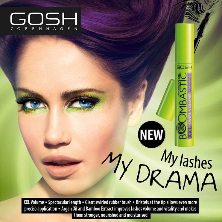 Gosh Boombastic Swirl Mascara 13ml 01 Black