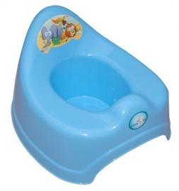 Детский горшок Tega Baby Safari, синий