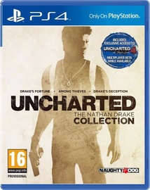 Игра для PlayStation 4 (PS4) Uncharted: The Nathan Drake Collection Russian Version PS4