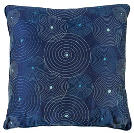 Home4you Silk Pillow 50x50cm Blue