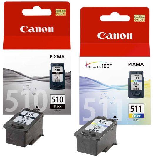 Кассета для принтера Canon, синий/черный/желтый/фиолетовый, 18 мл