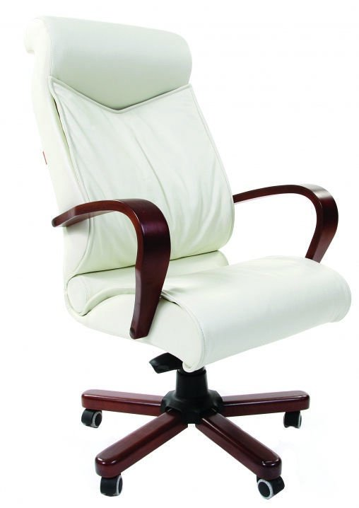 Chairman 420 WD Leather White