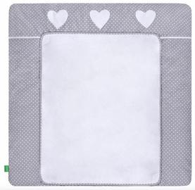 Lulando Changing Table Mat White Dots/Heart 75x80cm