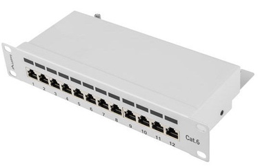Lanberg PPF6-9012-S 12 Port Panel